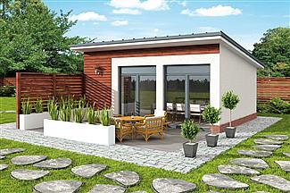 Projekt Domu Kl5 Kuchnia Letnia Bud Gospodarczy E Projekty Pl