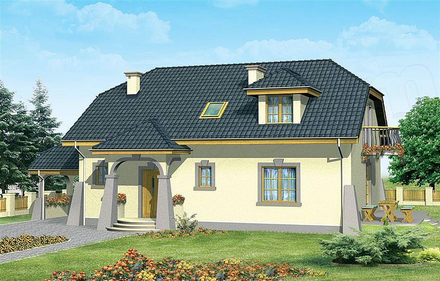 Projekt domu Rafal  e projekty pl -> Projekt Kuchnia Rafal Lorenz