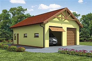 Projekty Garaży Dwustanowiskowych E Projektypl