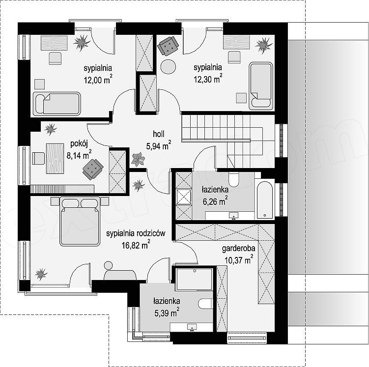 Projekt Domu Tytan 3 E Projektypl