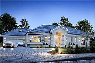 Gotowe Projekty Domów Domy Parterowe Piętrowe Z Poddaszem E