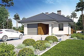 Gotowe Projekty Domow Domy Parterowe Pietrowe Z Poddaszem E